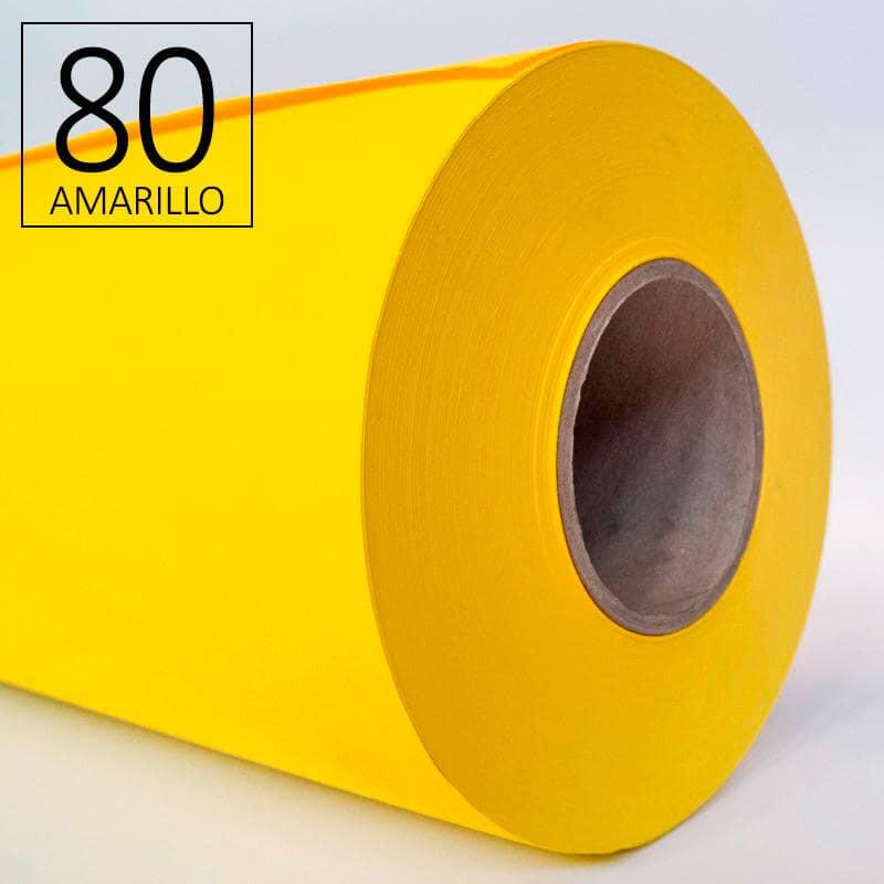 Papel amarillo para plotter ROAT
