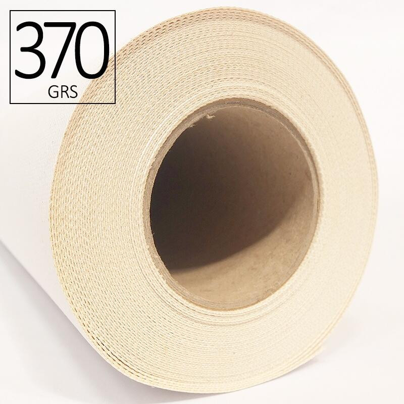 Lienzo de algodón CANVAS ROAT de 370 g para plotter inkjet