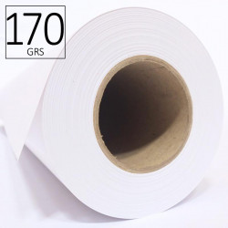 Papel estucado ROAT HR-170 g Alta Resolución para plotter inkjet